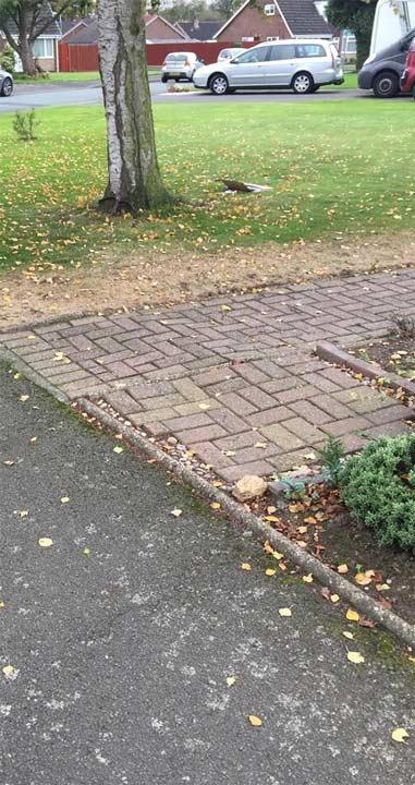 tpo pavement damage
